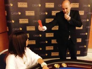 Tarjeta naranja Casino Marbella