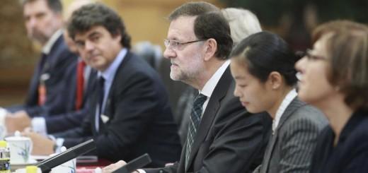 Rajoy China