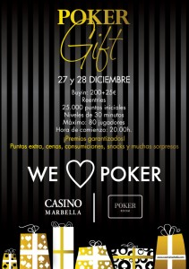 Poker gift Casino Marbella dic'14