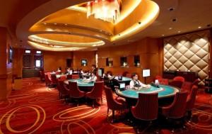 Macao interior casino