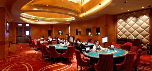 Macao interior casino