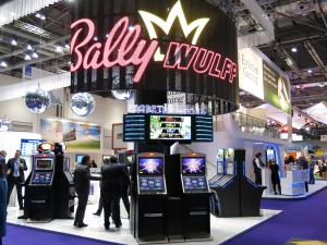 BALLY WULFF stand at ICE 2015