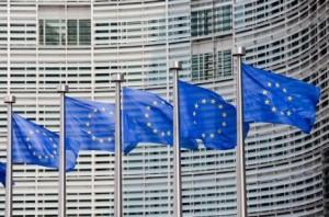Comision Europa banderas