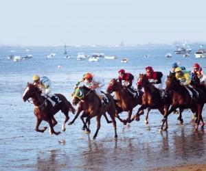 Carreras caballos Sanlucar