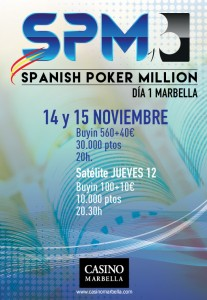 Spanish Poker Million Casino Marbella