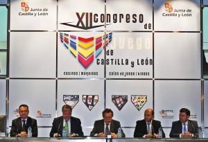 Inauguracion del congreso del Juego con Jose Antonio de Santiago Juarez /