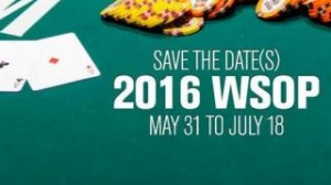 world series of poker 2016