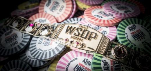 WSOP Eurpe 2017