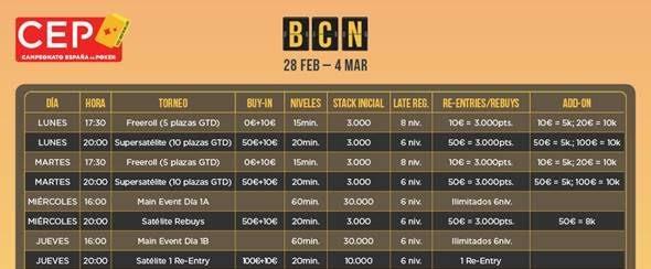 CEP BCN 2018