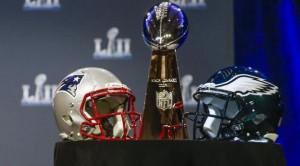 Super Bowl 2018 cascos