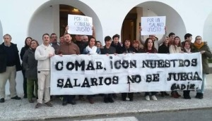 Trabajadores Bahía Cadiz
