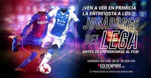 Goldenpark Barça-Lega '18