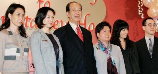 Stanley Ho&family